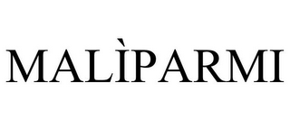 mark for MALÌPARMI, trademark #85157711