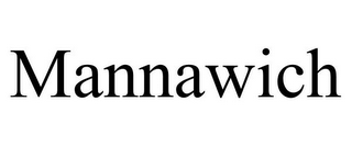 mark for MANNAWICH, trademark #85158043