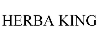 mark for HERBA KING, trademark #85158550