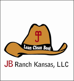 mark for J B JB RANCH KANSAS, LLC LEAN CLEAN BEEF, trademark #85158710