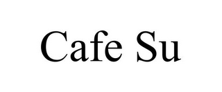mark for CAFE SU, trademark #85162149