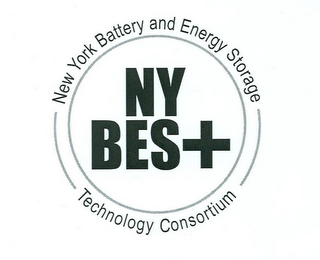 mark for NEW YORK BATTERY AND ENERGY STORAGE TECHNOLOGY CONSORTIUM NY BES+, trademark #85162181