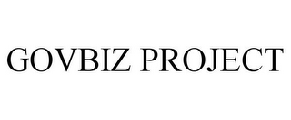 mark for GOVBIZ PROJECT, trademark #85162799