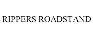 mark for RIPPERS ROADSTAND, trademark #85163326