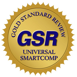 mark for GOLD STANDARD REVIEW GSR UNIVERSAL SMARTCOMP, trademark #85163963