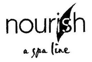 mark for NOURISH A SPA LINE, trademark #85164682