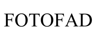mark for FOTOFAD, trademark #85167558