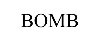 mark for BOMB, trademark #85167962