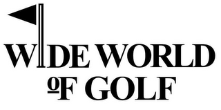 mark for WIDE WORLD OF GOLF, trademark #85168375