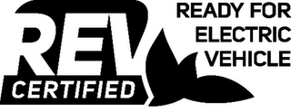 mark for REV CERTIFIED READY FOR ELECTRIC VEHICLE, trademark #85168860
