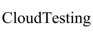 mark for CLOUDTESTING, trademark #85169084