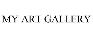 mark for MY ART GALLERY, trademark #85169786