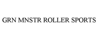 mark for GRN MNSTR ROLLER SPORTS, trademark #85170093