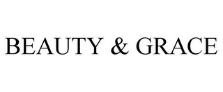 mark for BEAUTY & GRACE, trademark #85170647