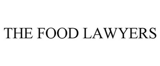 mark for THE FOOD LAWYERS, trademark #85170968
