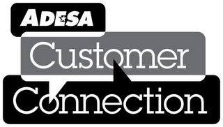 mark for ADESA CUSTOMER CONNECTION, trademark #85171232