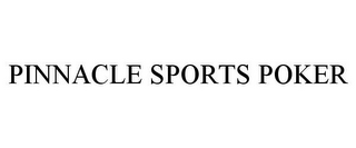 mark for PINNACLE SPORTS POKER, trademark #85171563