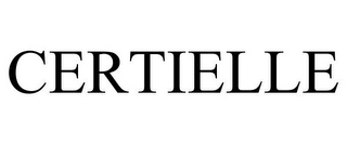 mark for CERTIELLE, trademark #85172285