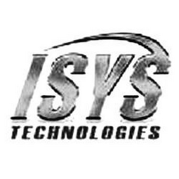 mark for ISYS TECHNOLOGIES, trademark #85173008