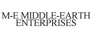 mark for M-E MIDDLE-EARTH ENTERPRISES, trademark #85173570