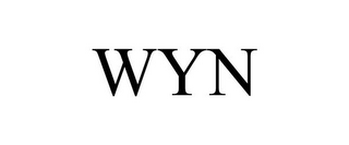mark for WYN, trademark #85173630