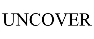 mark for UNCOVER, trademark #85173634