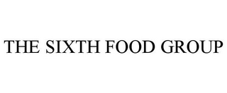 mark for THE SIXTH FOOD GROUP, trademark #85174376