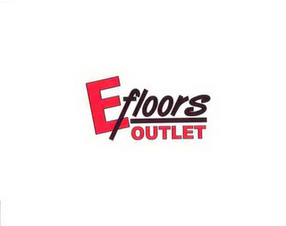 mark for EFLOORS OUTLET, trademark #85174803