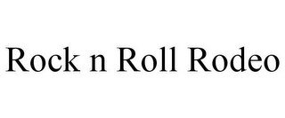 mark for ROCK N ROLL RODEO, trademark #85174975