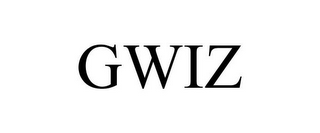 mark for GWIZ, trademark #85178471
