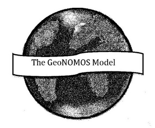 mark for THE GEONOMOS MODEL, trademark #85179472