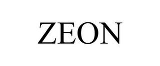 mark for ZEON, trademark #85180036