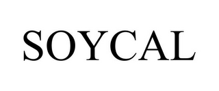 mark for SOYCAL, trademark #85180524