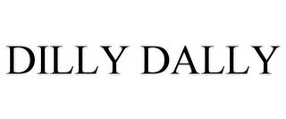 mark for DILLY DALLY, trademark #85181358