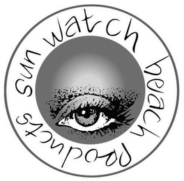 mark for SUN WATCH BEACH PRODUCTS, trademark #85182785