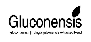 mark for GLUCONENSIS GLUCOMANNAN | IRVINGIA GABONESIS EXTRACTED BLEND., trademark #85182862