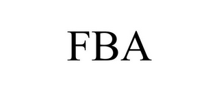 mark for FBA, trademark #85183179