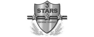 mark for 3 STARS BREWING COMPANY, trademark #85183427