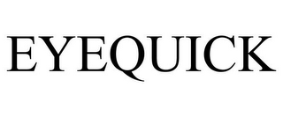 mark for EYEQUICK, trademark #85183759
