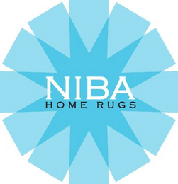 mark for NIBA HOME RUGS, trademark #85184631