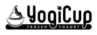 mark for YOGICUP FROZEN YOGURT, trademark #85184652