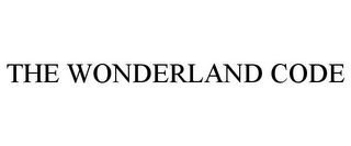 mark for THE WONDERLAND CODE, trademark #85184696