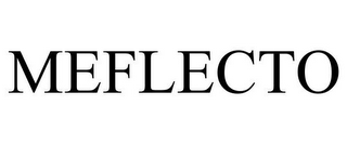 mark for MEFLECTO, trademark #85184847