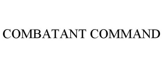 mark for COMBATANT COMMAND, trademark #85185964