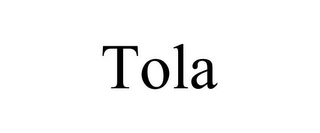 mark for TOLA, trademark #85186469