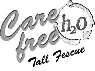 mark for CARE FREE TALL FESCUE H2O, trademark #85187210