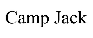 mark for CAMP JACK, trademark #85189161