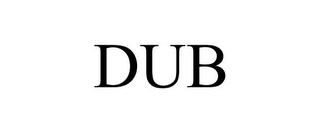 mark for DUB, trademark #85189376