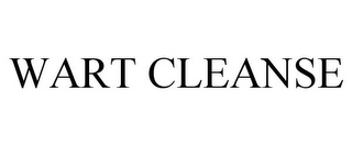 mark for WART CLEANSE, trademark #85190276