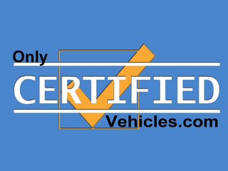 mark for ONLY CERTIFIED VEHICLES.COM, trademark #85190604